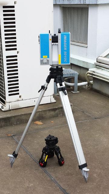 3dレーザー計測機